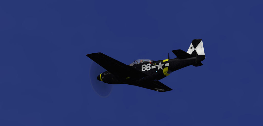 USN Navy p-51