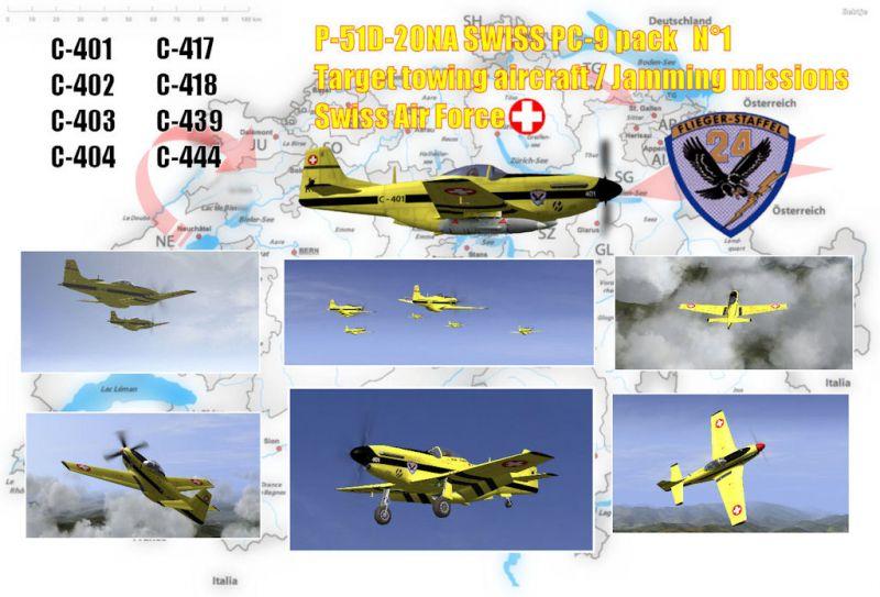 SWISS P-51D-20NA PC-9