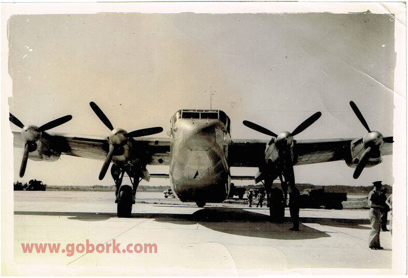 Avro York 1945